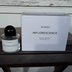Brand New Byredo Inflorescence 3.4oz Never Opened